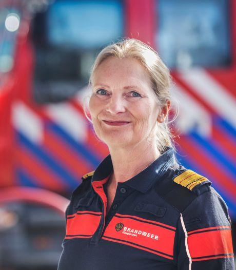 Esther Lieben hielp de eerste vrouwen het brandweerkorps in, maar: 'Zelf heb ik twee keer op het punt gestaan te stoppen'