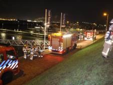 Groot alarm na ontploffing op binnenvaartschip Hoek van Holland