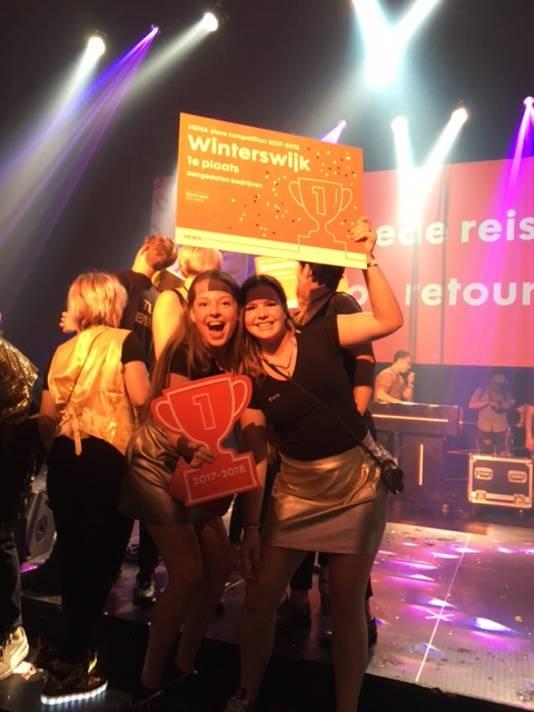 De HEMA in Winterswijk is verkozen tot beste HEMA-winkel van Nederland.