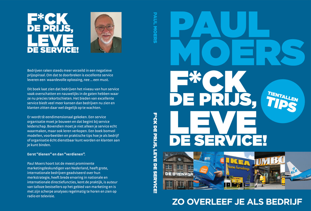 Cover van boek F*ck de prijs, leve de service. Het werk is te koop voor 22,95.