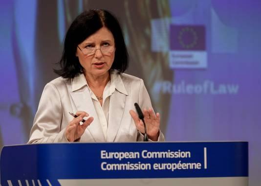 Vera Jourova, commissaire européenne