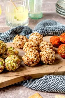 Wat Eten We Vandaag: Geitenkaas borrelballetjes
