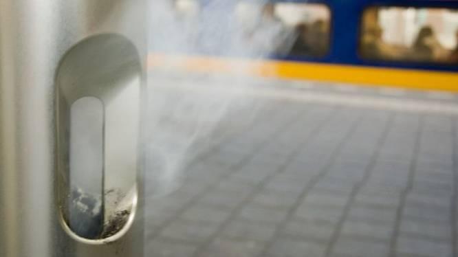 Sigaretje vóór de trein vertrekt? Nergens in Utrecht loop je zo veel risico op een boete als op station Amersfoort