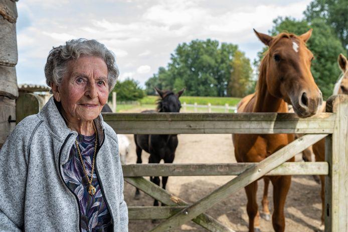 Maria Galle viert haar honderdste verjaardag.