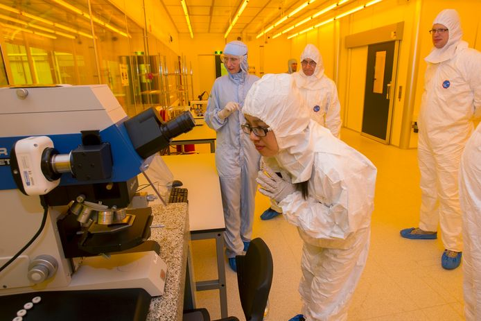 Fotonicabedrijf Smart Photonics opende in 2017 een cleanroom op de High Tech Campus in Eindhoven.