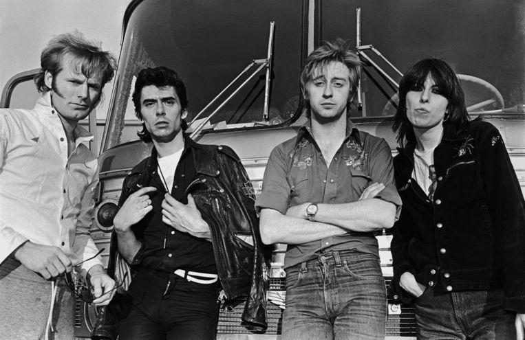De band nog compleet in 1980. Beeld getty