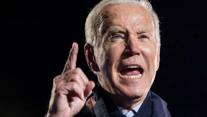 """Biden stelt """"historisch"""" investeringsplan van 1,75 biljoen dollar voor"""