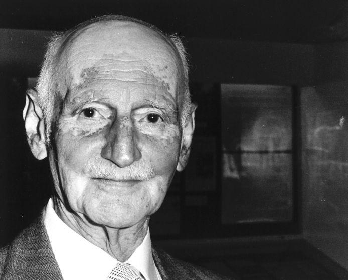 Otto Frank, de vader van Anne Frank.