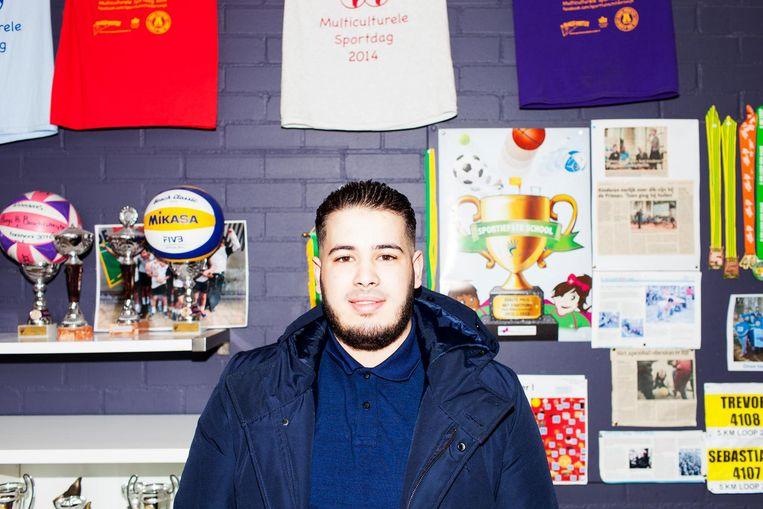 Hicham Falloun (21). Beeld null