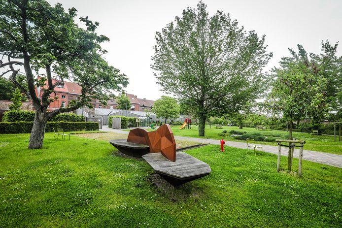 Het park van WZC Ter Potterie zal vrij toegankelijk worden voor iedereen