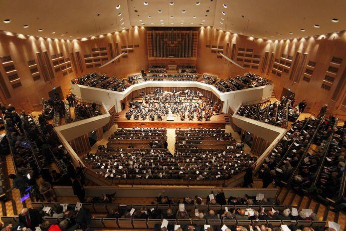 Concert in het Muziekgebouw in Eindhoven (archieffoto).