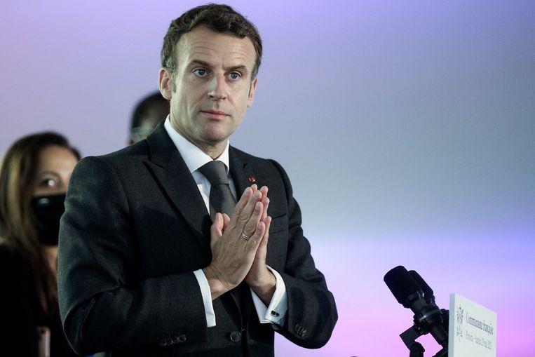 De familie van Brière wil dat Frans president Macron werkt aan diens vrijlating. Beeld Photo News
