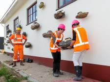 Tweede leven voor kunstwerk met scheepjes bij Prinses Beatrixsluis