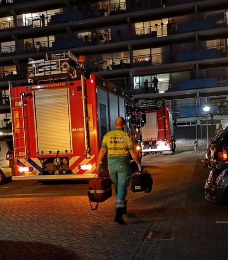 Brandweer rukt uit voor pan op het vuur bij seniorenflat Eemgaarde in Amersfoort
