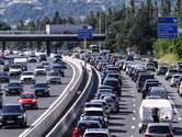 Nu al aansluiten geblazen in vakantiefiles op Europese wegen richting het zuiden
