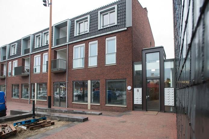 Woon- en winkelcomplex De Bèrghse in het centrum van Berghem.