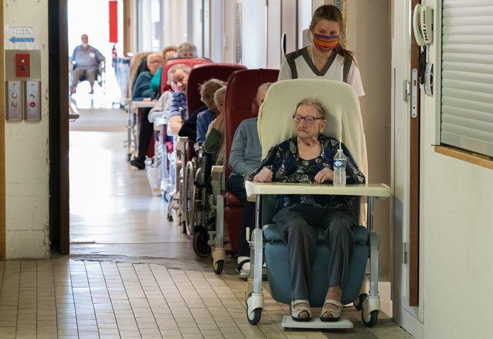 Le nombre de résidents en Wallonie et à Bruxelles a baissé de 6,5% entre 2019 et 2020.