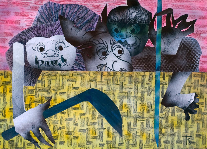 Werk van Trees Ruijs dat gaat over haar tijd in het Jappenkamp: Buiten (Merdeka)