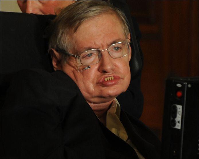 """Astrofysicus Stephen Hawking is niet overtuigd van de goede intenties van mogelijks buitenaards intelligent leven: """"Het zou kunnen uitdraaien zoals de indianen toen ze Columbus ontmoetten""""."""