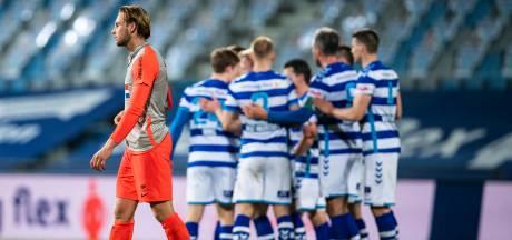 FC Eindhoven heeft weer eens last van Platje: spits schiet De Graafschap in blessuretijd naar winst