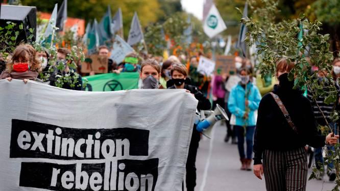 Extinction Rebellion wil zonder toelating de Wetstraat bezetten