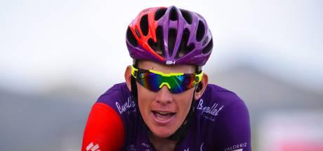 Jetse Bol van voren in openingsetappe Ronde van Burgos, Planckaert duwt en trekt zich naar de winst