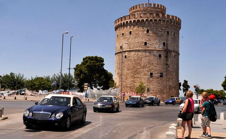 De Witte Toren van Thessaloniki. Beeld AP