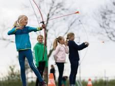 Boogschieten, voetbaldarten en vooral 'lekker uitleven' bij meerMoerdijk