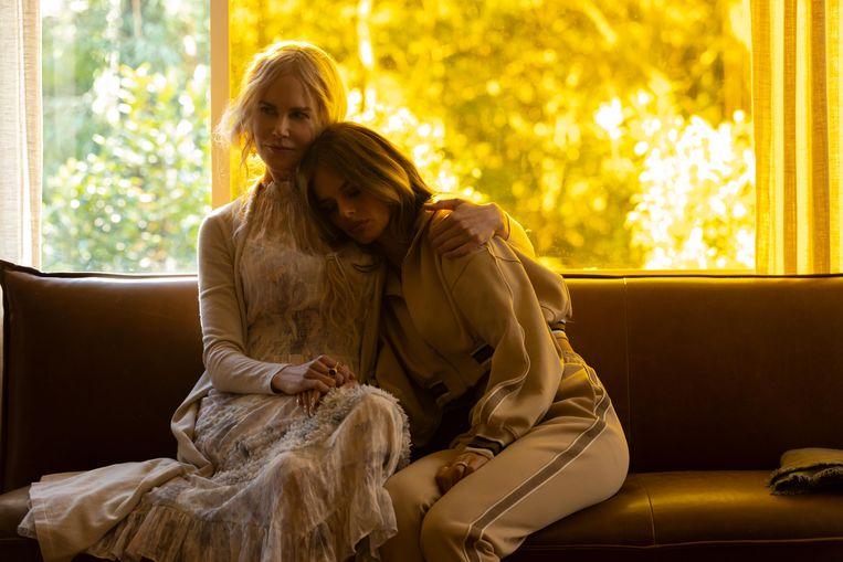 Nicole Kidman speelt de goeroe in 'Nine Perfect Strangers'.  Beeld Reporters / Splash