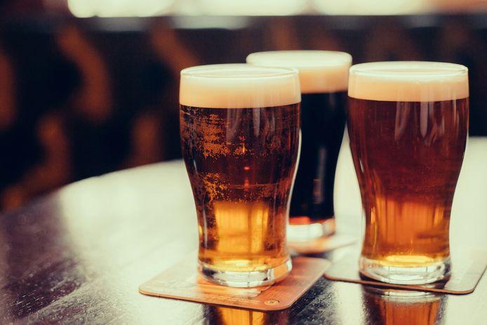Bier, steeds normaler om de bij maaltijd te drinken.