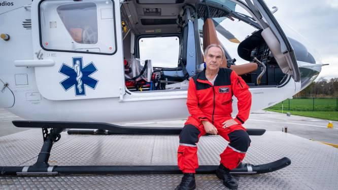 """Nijlense helikopter vloog al enkele keren uit voor dringend COVID-transport: """"Het geeft een goed gevoel als je kan helpen"""""""