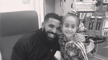 Drake bezoekt 11-jarig hartpatiëntje nadat ze de Keke-challenge doet