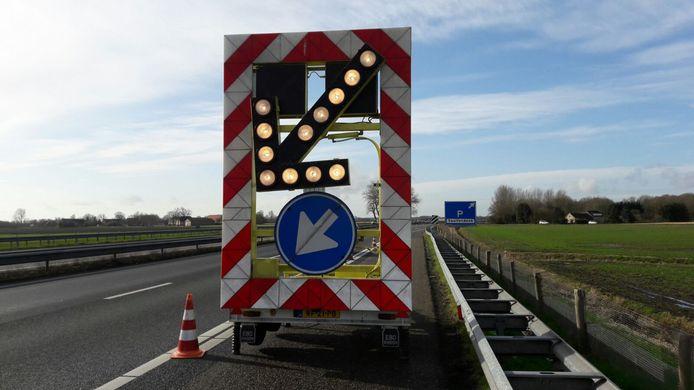 Parkeerplaats Spuitendonk in Roosendaal is afgesloten.