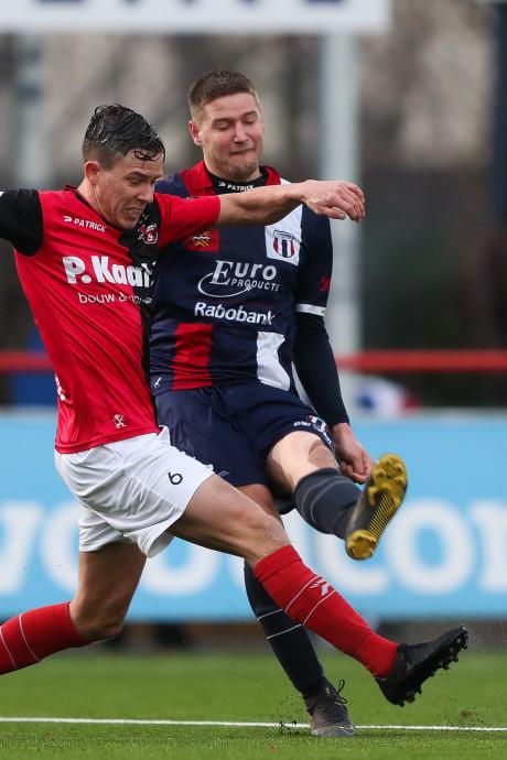 De Treffers verspeelt zege bij Excelsior Maassluis in blessuretijd