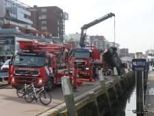 Hagenaar (77) overleden die met auto te water raakte bij Scheveningse haven