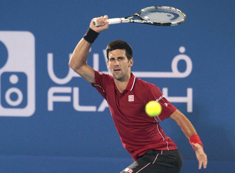 Novak Djokovic Beeld REUTERS