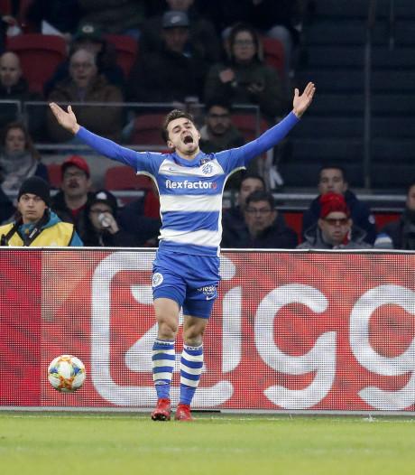Van Mieghem na afgang bij Ajax: 'Het voelde alsof we in een rondo stonden'