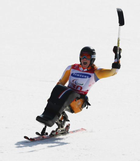 Linda van Impelen uit Emst maakt droom waar met zilver op reuzenslalom bij Paralympics