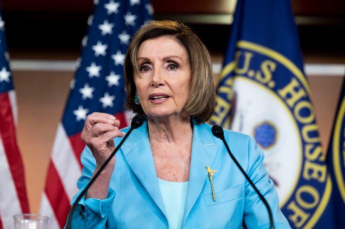 Nancy Pelosi, de Democratische voorzitter van het Huis van Afgevaardigden.