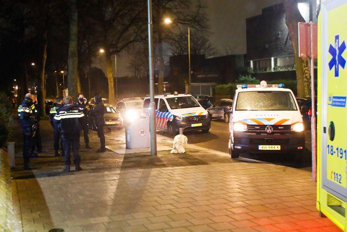 Er kwam heel wat politie naar de Bosboom-Toussaintstraat in Dordrecht, omdat er een steekpartij werd gemeld. Een man raakte echter gewond omdat hij over een muurtje viel.