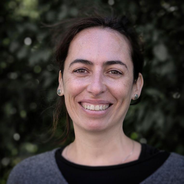 Nina Damm stemt De Groenen. Beeld Daniel Rosenthal