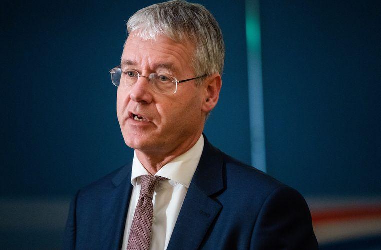 Minister Arie Slob voor Basis- en Voortgezet Onderwijs en Media (ChristenUnie). Beeld ANP