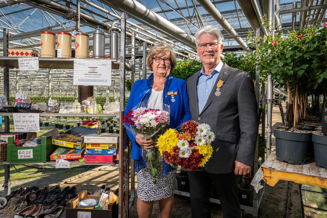 Jac en Hannie van Wijk uit Zaltbommel.