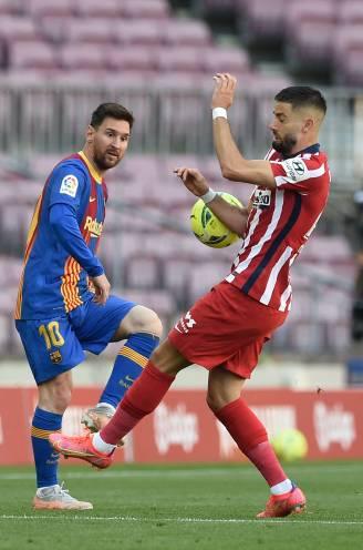 Real morgen lachende derde? Barcelona en leider Atlético komen niet tot scoren, Carrasco laat zich zien in Camp Nou