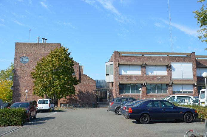 Het testcentrum voor COVID-19 in Ninove.
