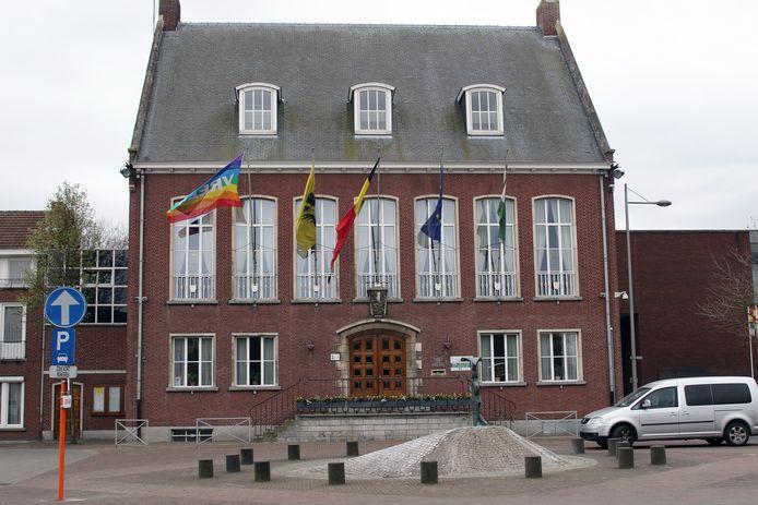 Het gemeentehuis van Merksplas.