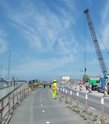 Opnieuw verkeershinder bij Westsluis Terneuzen