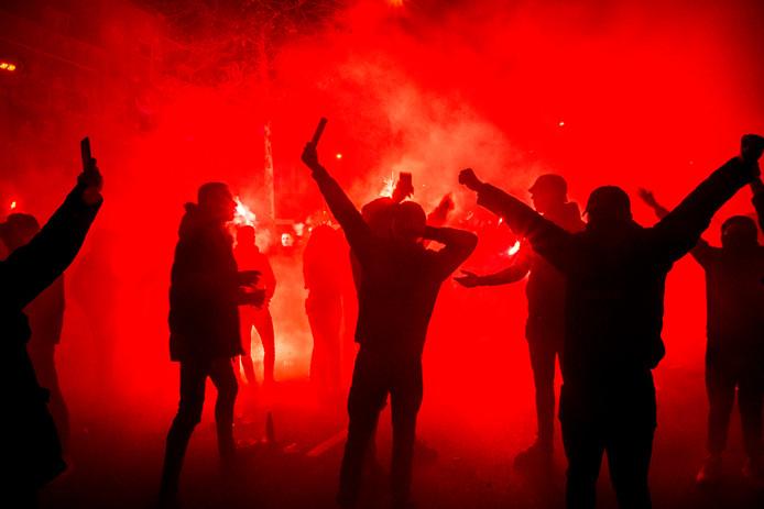 Willem II-fans.