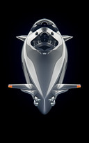 De door Ortega Submersibles ontworpen tweezits duikboot.