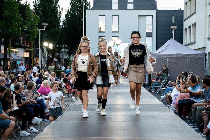 De modeshow was een geslaagde start van 'Schoten Geniet!'
